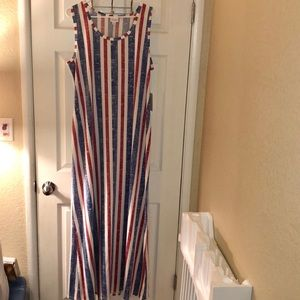 2XL NWT vintage Americana Lularoe Dani dress